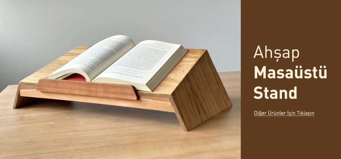 kitap okuma ve laptop standı