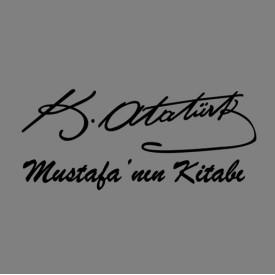 Kitap Damgası - Mustafa Kemal Atatürk İmza
