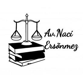 Adalet Terazisi ve Kitap - İsme Özel Mühür