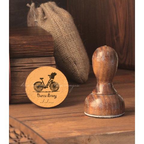Bisiklet - İsme Özel Mühür