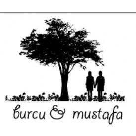 Kitap Mührü - Ağaç Altındaki Çift