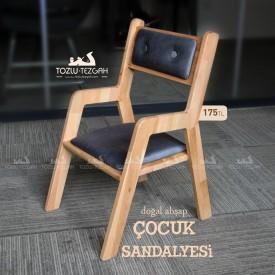 Ahşap Çocuk Sandalyesi