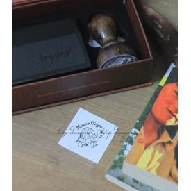 Kaplumbağa Temalı İsme Özel Kitap Damgası