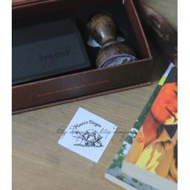 Kaplumbağa Temalı Kişiye Özel Kitap Damgası