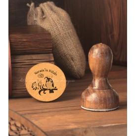 Desenli Baykuş - Kişiye Özel Kitap Damgası